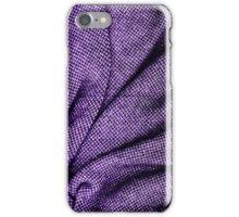 Purple Tweed Texture iPhone Case/Skin