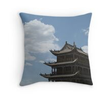 Jiayuguan pass Throw Pillow