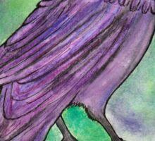 The Purple Raven Sticker
