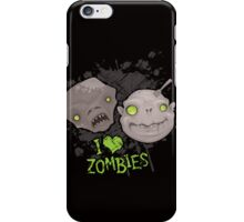 Zombie Heads iPhone Case iPhone Case/Skin