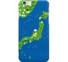 Cartoon Mpa of Japan iPhone Case/Skin