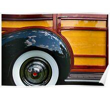 Packard Woodie Poster