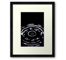 Drop of Rose Framed Print