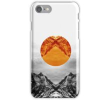 Why down the circle iPhone Case/Skin