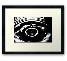 A Drop of Orange Framed Print