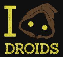 I heart Droids by spazzynewton