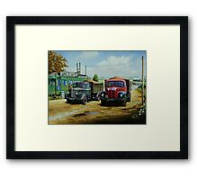 Cafe society Framed Print