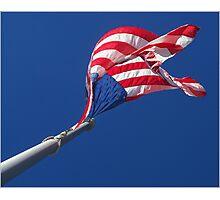Flag 1 Photographic Print