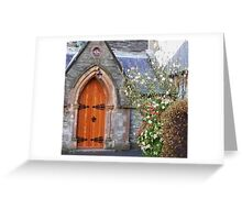 St Augustine's Church On The Walls Greeting Card