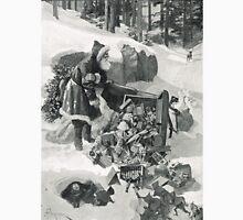 Santa in a Fix illustration 1911 Unisex T-Shirt