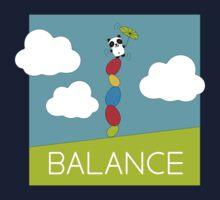 Panda Balance Kids Tee