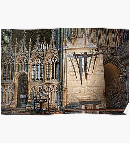 Canterbury Cathedral - The Martyrdom Poster