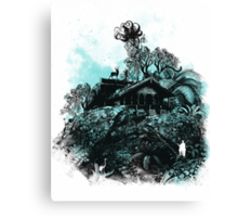 little house on the mount Canvas Print