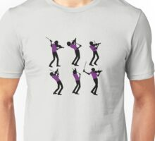 Purple Shirt of Violin Unisex T-Shirt