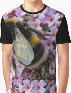 Up Close and Personal - Bumble Bee at Work  Graphic T-Shirt