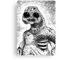 Zombie Slitheen Canvas Print