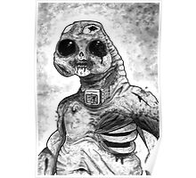 Zombie Slitheen Poster
