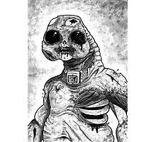Zombie Slitheen Photographic Print