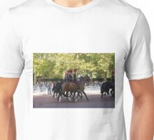 The King's Troop, Royal Horse Artillery in the Mall during the Chinese State visit Unisex T-Shirt