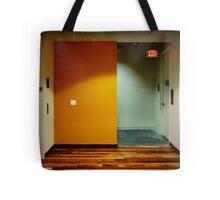 Yellow Exit Tote Bag