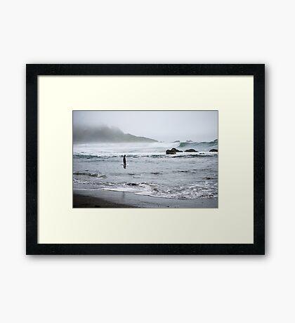 California Coast III Framed Print