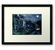 The Witches House Framed Print