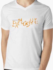 Explosive today Mens V-Neck T-Shirt