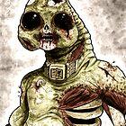 Zombie Slitheen Colour by drwhofreak