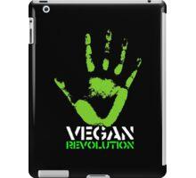 Vegan revolution iPad Case/Skin