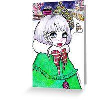 Ice Elf Greeting Card