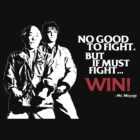 Karate Kid - No Good to Fight by worldcollider