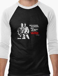 Karate Kid - No Good to Fight Men's Baseball ¾ T-Shirt