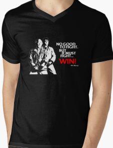 Karate Kid - No Good to Fight Mens V-Neck T-Shirt