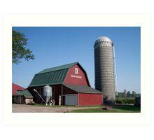 Wakarusa, Indiana Farm Art Print
