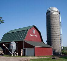 Wakarusa, Indiana Farm by Marvin Mast