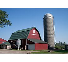 Wakarusa, Indiana Farm Photographic Print