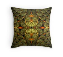 Split Division Throw Pillow