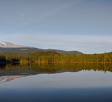 Lake Trillium Vista by Marvin Mast