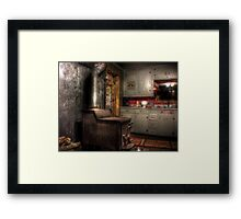 A Maine Kitchen Framed Print
