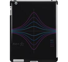 Function Plot - A/(x^2 + 1) iPad Case/Skin