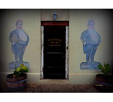 Doorway in New Braunfels Photographic Print