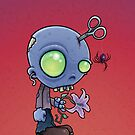 Zombie Jr. iPhone Case by fizzgig