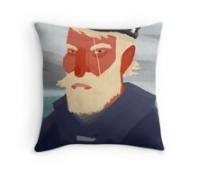 Ahab Throw Pillow