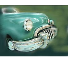 Toothy Buick Photographic Print