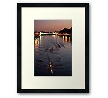 Trent Rowers Framed Print