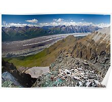 Kennecott Glacier Poster