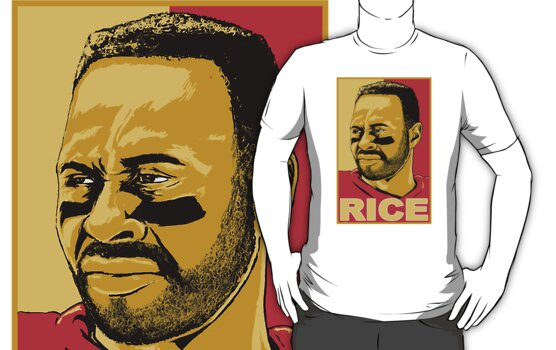 Jerry Rice by kagcaoili