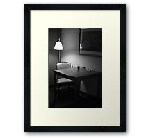drinks for one Framed Print