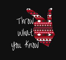 Throw What You Know Guns Up Unisex T-Shirt