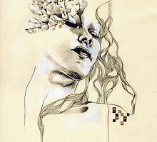 Metamorphosis number one by Patricia Ariel